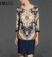 Женское платье Party dresses Roupas Femininas 2015 Vestidos Prined