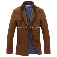 2014 new coming winter coat warm jacket fashion large size big 5XL 6XL 7XL 8XL men outwear outdoor autumn classic cotton hotsale