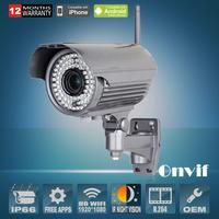 2MP HD 1080P Wireless Day/Night Vison Onvif H.264 78 IR Outdoor Security CCTV WIFI Network IP Camera Zoom 2.8-12mm Lens