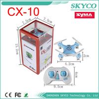 Cx-10 Mini 2.4g 4ch 6 Axis LED Rc Quadcopter Airplaner colourful