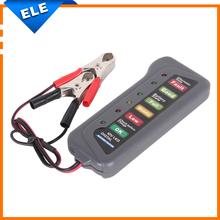 New arrivals Tirol 12V Digital Alternator Tester with 6-LED Lights Display Car Diagnostic Tool Battery Tester(China (Mainland))
