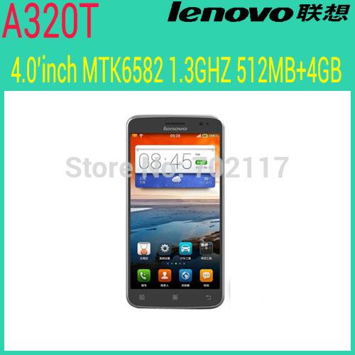 Мобильный телефон Lenovo A320T 4 Android 4.4 GSM /512m 4G 2 WIFI Multi мобильный телефон android is better than a802 4g 5 0 1800