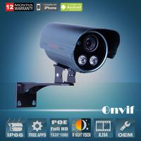 POE Network IP Camera 1080P Full HD H.264 Waterproof Outdoor IR Video Surveillance Security CCTV Camera Onvif