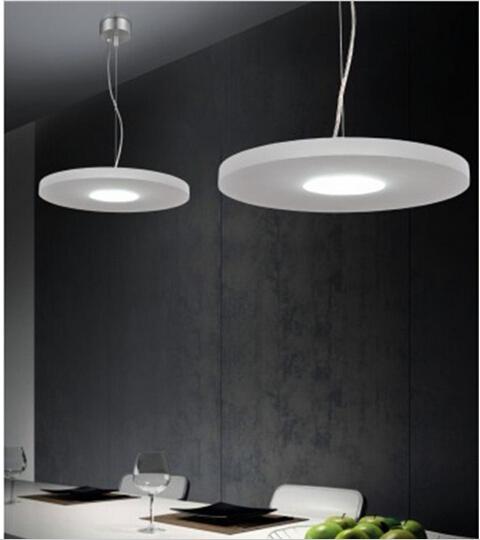 conduit lampe pendante moderne blanc pur design lampes suspendues lampes suspendues suspension douille pour le salon salle à manger éclairage