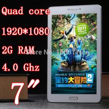 Quad Core 7 inch Tablet Pc phone mobile 3G Dual Sim Card Slot Camera 5.0MP 1920X1080 IPS 2GB RAM WIFI GPS GSM WCDMA pcs 8 9 10