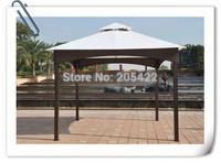 Free Shipping! outdoor gazebo 3*3m rattan elegant gazebo Khaki