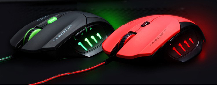 free shipping Lighting mouse l9 laser gaming mouse cs cf usb wired mouse F-S010(China (Mainland))