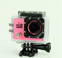 "Free Shipping SJ6000 WIFI Action Camera 12MP 170 degrees Full HD 1080P 2.0""LCD Diving 30M Waterproof Sport DV SJ6000 Camera"