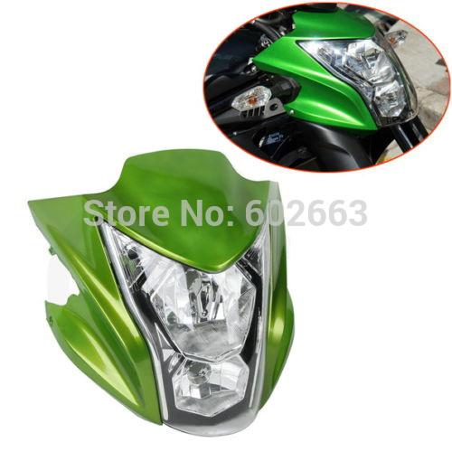 Фары для мотоциклов Logas Kawasaki er/6n /2014 motorcycle cnc damper steering stabilizerlinear reversed safety control for kawasaki er 6n er 6f er6n er6f ninja 650 2012 2016