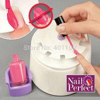 2014 New Manicure Tv Nail Perfect Instrument Nail Painting Kit Nursing Art Equipment Tool Makeup Storage TV Nail Machine C0118