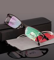 Aluminum magnesium alloy  glasses frame  light  half  frame eyewear 014