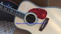 41 inches Acoustic Guitar Natural Top AAA Solid spruce In Stock Free Shipping