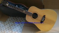 Natural 41 inches Acoustic Guitar Guitars Free Shipping