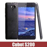 "New Arrival CUBOT S200 5.0"" IPS HD MTK6582 Quad Core Android 4.4.2 3G Unlocked Smart Phone 13MP 1GB RAM 8GB ROM WCDMA Russian"
