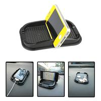Black Car Dashboard Sticky Pad Mat Anti Non Slip Gadget Mobile Phone GPS Holder Interior Items Accessories  61759