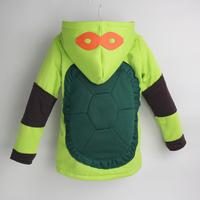 Retail+New 2014 Winter Teenage Mutant Ninja Turtles coat,Baby Chirstmas Jacket,Lovely Winter children outerwear,baby boy clothes