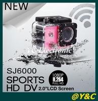 ORIGINAL SJ6000 2 in LCD Screen 14.0MP 170 Wide Angle WiFi Waterproof Sport DV with WIFI action camera