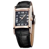 New Brand Ladies Women Lady Fashion Watch Dress Women leather Watch Diamond Crystal Watch