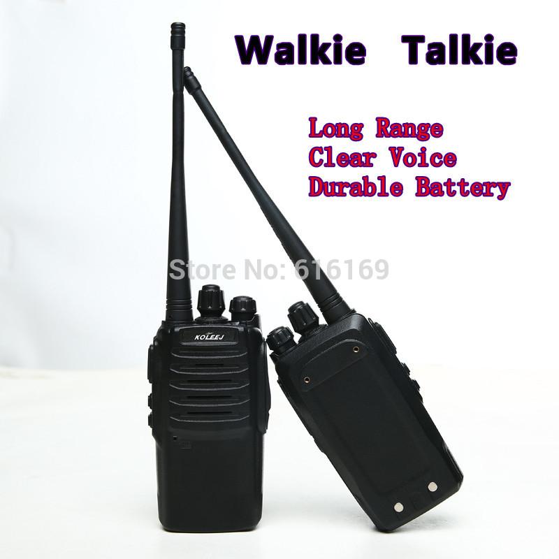 Professional Long Range Walky Talky Walkie Talkie 3-5km(China (Mainland))