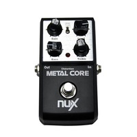 Original NUX Metal Core Guitar Effect Pedal 2 voice of metal sound