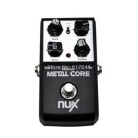 Original NUX Metal Core Guitar Effect Pedal 2 voice of metal sound