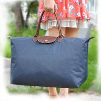 52cm big women/men travel bag duffle women luggage bags sport bag travelling Nylon waterproof folded folding Shopping bags