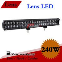 23 inch 240W LED Light Bar Combo 12V 24V IP67 Adjustable Bracket For 4x4 Truck Offroad ATV Fog Light LED Worklight Save on 300W