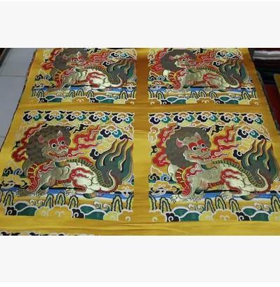 Hangzhou silk tangzhuang fabric qipao cushion curtain table flag fabrics brocade(China (Mainland))