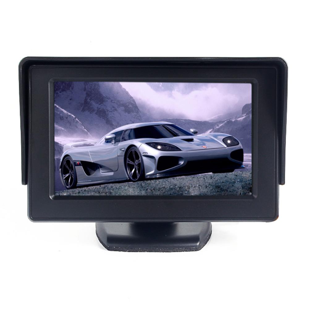 Автомобильный монитор 4.3 TFT LCD CCTV DVD автомобильный монитор 4 3 tft auto lcd