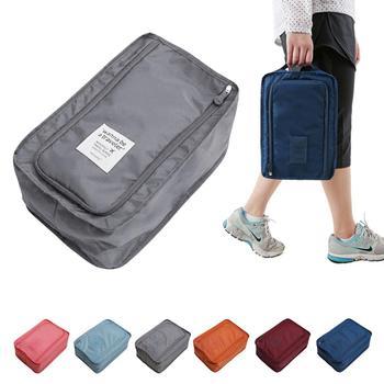 Мужская путешествия хранения нейлоновая сумка 6 цвета выбор портативные устроителя мешков обуви сортировки мешок поддержка оптовая продажа