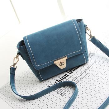 Женщина новое поступление 2014 зимние сумки женщины сумки на ремне , синий нубука кожаные сумки трапеции сумки старинные сумка