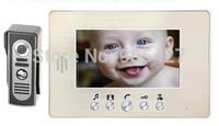 Color Video DoorPhone Intercom System Villa KIT GW739
