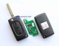 Citroen 3 button flip remote key ( 0536 model) 434mhz with electronic ID46 chip