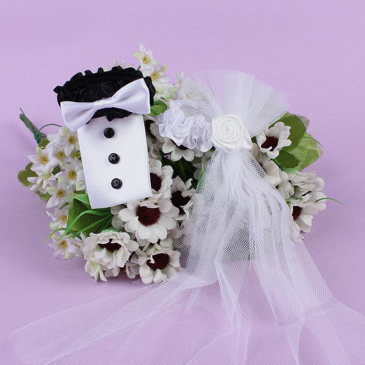 Wedding Supplies Bride& Groom Costume Goblet Decoration Wedlock