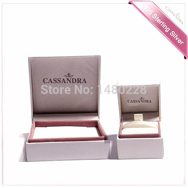 (2PC)European fashion bracelet box women 925 silver bracelet box Valentine gift box wholesale holiday gifts Necklace box(China (Mainland))