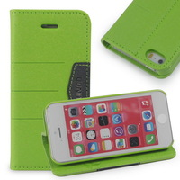 Luxury Leather Case for iPhone 5s 5 Flip Cover with Stand Holder Wallet Case for iPhone 5 Luxury Phone Bags