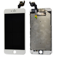 High Quality test 1 by 1 For iphone 6 Plus Full Front Touch Screen LCD Digitizer Display for iphone 6 Plus