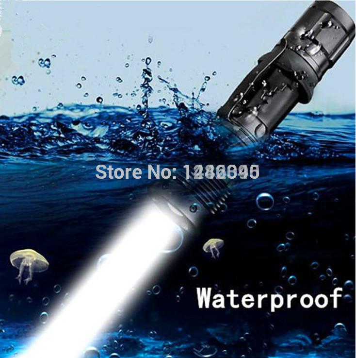 High Quality Mini Torch Zoomable Waterproof flashlight UltraFire CREE Q5 lanterna LED Tactical Flashlight Portable Bicycle Lamp(China (Mainland))