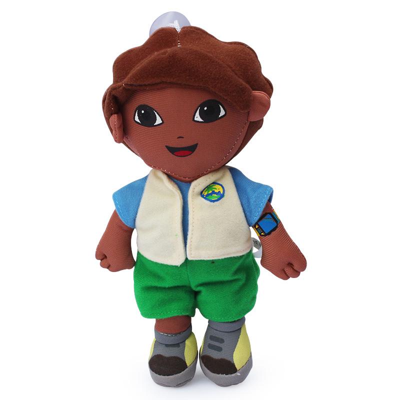 EMS Dora the Explorer Go Diego Go Diego Plush Dolls Toy 18cm 100PCS/Lot Free shipping(China (Mainland))
