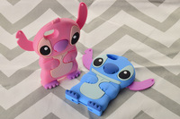 Lilo 3D Cartoon Stitch Soft Silicone Case Cover for Apple iPhone 5 / 5S