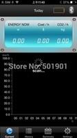 Wireless electricity monitor power meter energy saving meter