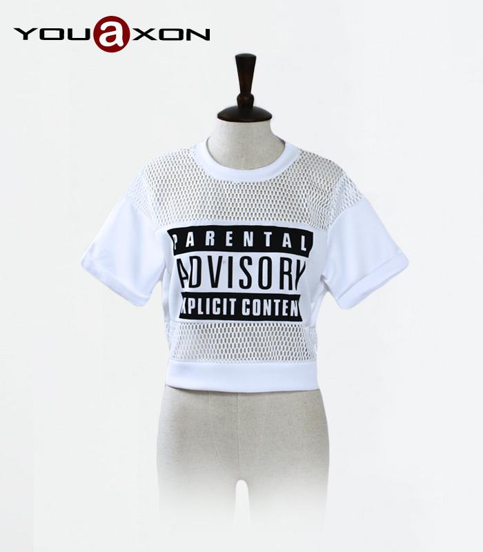 женская куртка zaro 2015 roupas femininas djk001 Женская футболка Roupas femininas 1512 YouAxon Sheer + t crop top