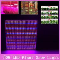1x Plant Light 50W 110-220V 289LED Grow Light Flower Bulbs Hydroponics System Lamps Yard Greenhouse Garden Lighting