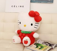 High Quality Sitting height 20CM Hello Kitty Doll Stuffed Plush Toy For children kids Baby Toy Hello Kitty (Three colors)