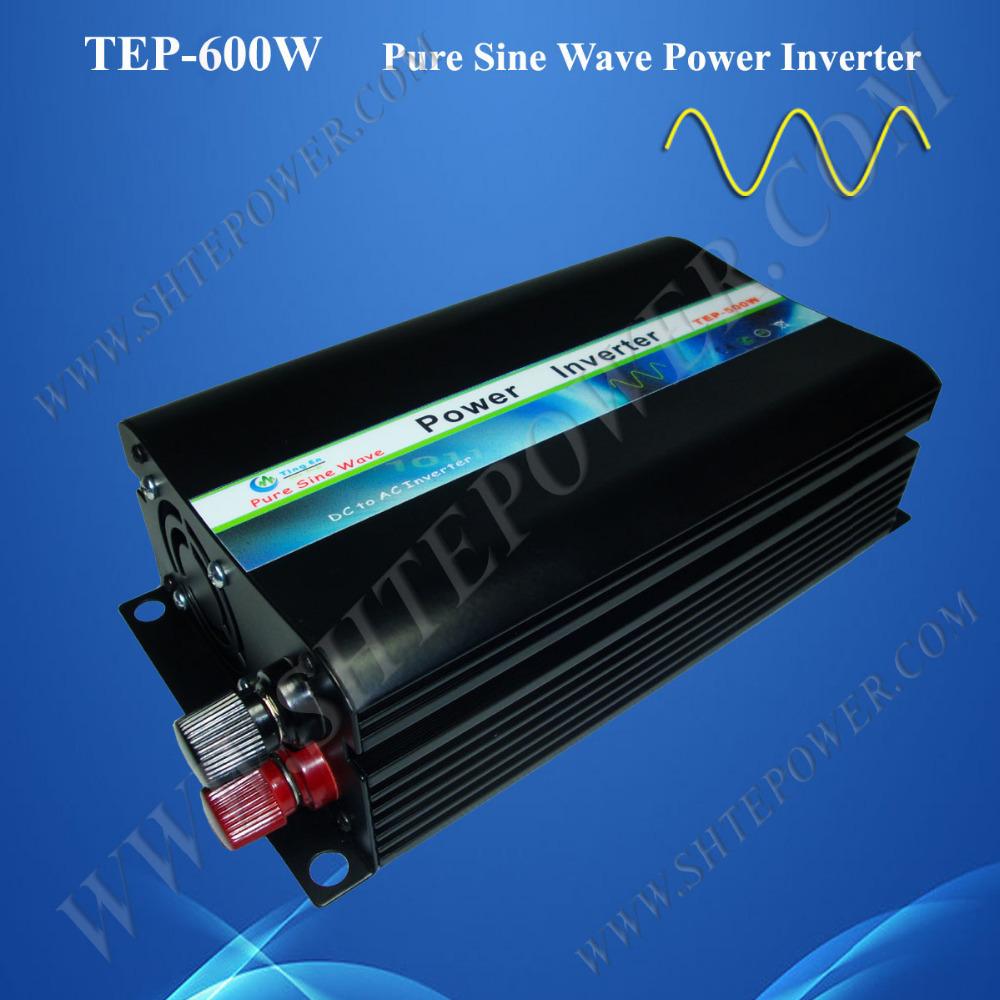 48V pure sine wave inverter 600W, made in China inverter manufacturer, dc ac converter 48V 220V(China (Mainland))