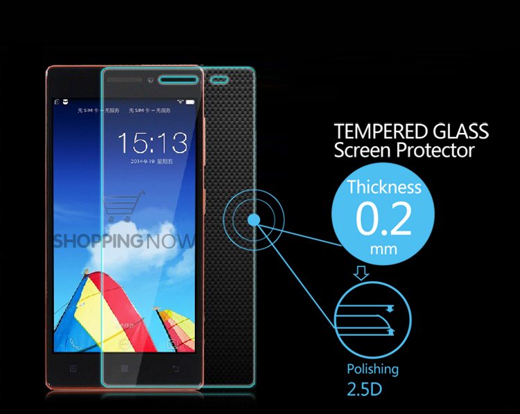 New Arrival Ultra-thin Explosion-Proof Anti Shatter Tempered Glass Screen Protector Film For Lenovo Vibe X2 With Retail Package(China (Mainland))