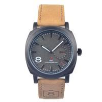 Fashion Business Quartz watch Men Sport Watches Curren Military Watches Men Corium Leather Strap army wristwatch