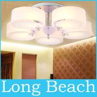 Fashion Acryl LED ceiling light modern brief living room light bedroom lamp restaurant kitchen  round lamp