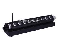 4x lot Free shipping Battery Powerd  LED Bar Light  LED  Wall Wash Light  Dj effect