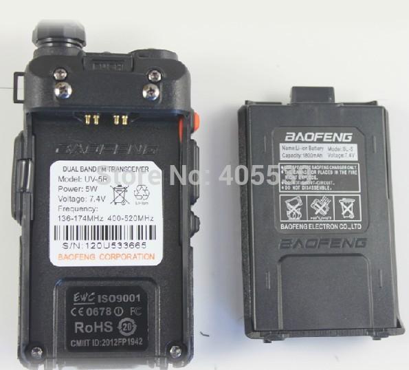 Dual Band Handheld Transceiver Uv-5r Dual Band Handheld